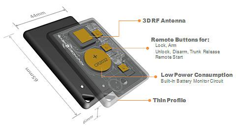 Advanced Keys Ak 105s Smart Key With Knob Start System